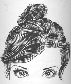 Desenhos De Cabelos Femininos Tumblr Pesquisa Google