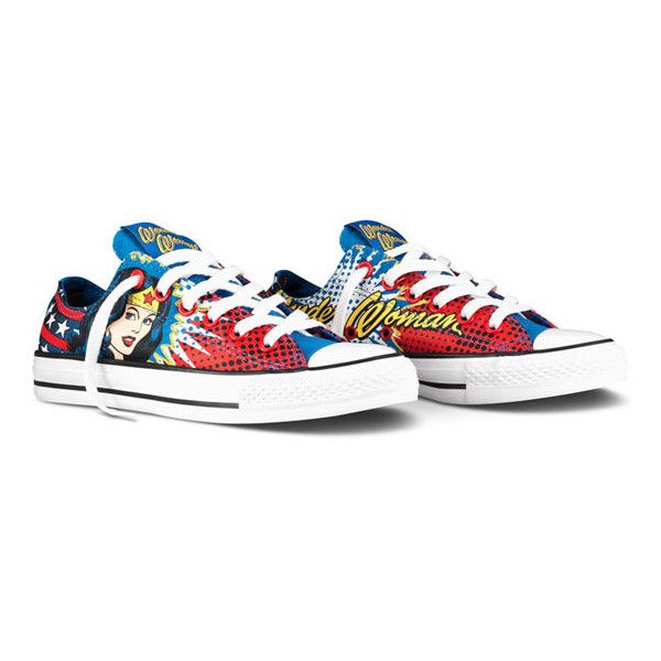 bdb73ab7e6b3 DC Comics x Converse Chuck Taylor All Star – Killer Croc + Wonder... ❤  liked on Polyvore