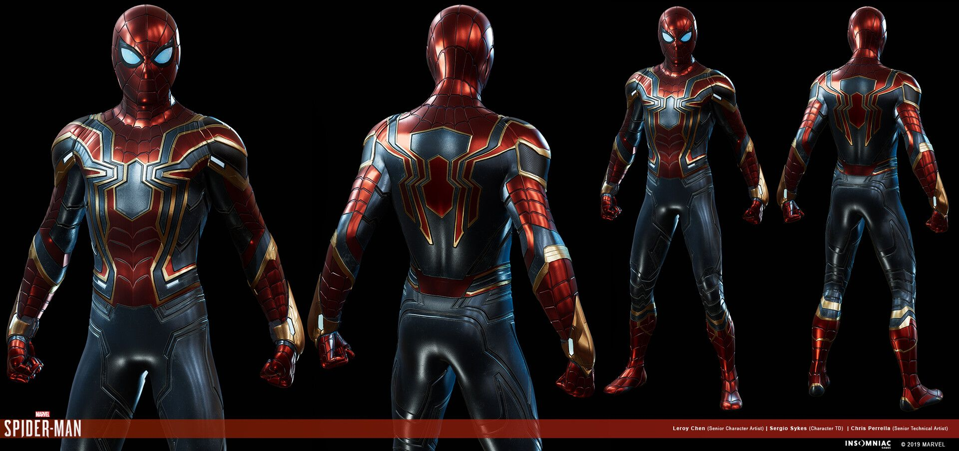 Artstation Marvel S Spider Man Iron Spider Suit Avengers