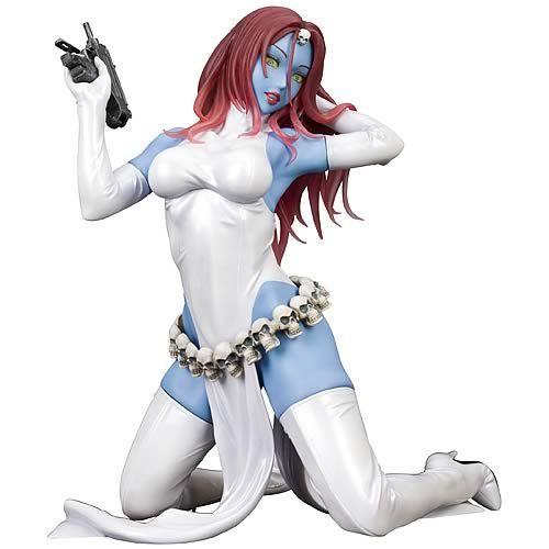 BLOG DOS BRINQUEDOS: X-Men Mystique Bishoujo Statue