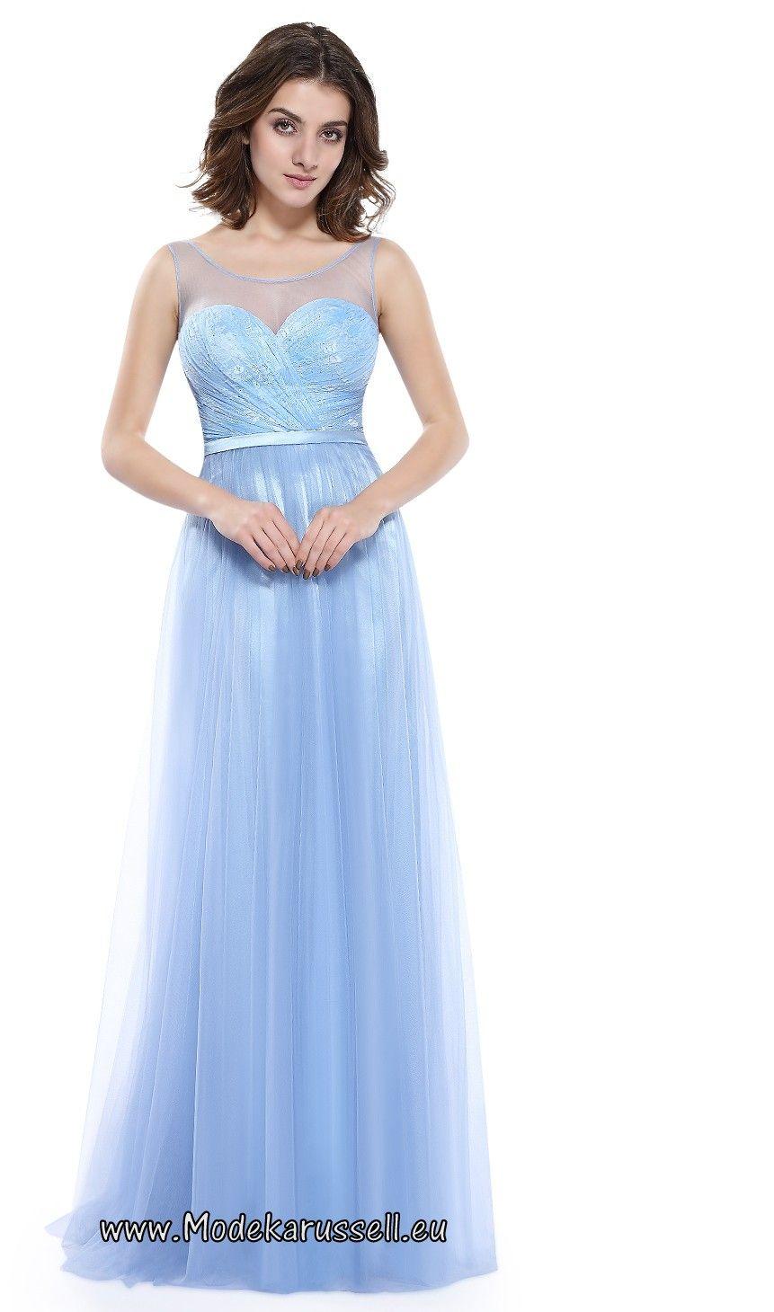 Abendkleid hellblau gunstig