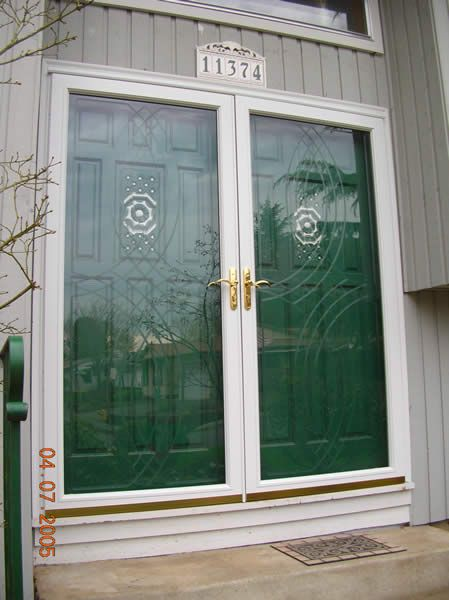 Elegant Storm Doors For French Doors | But No Brass Hardware. For The Back.