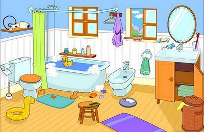Maestra erika valecillo partes de la casa logopedia for Living room y sus partes