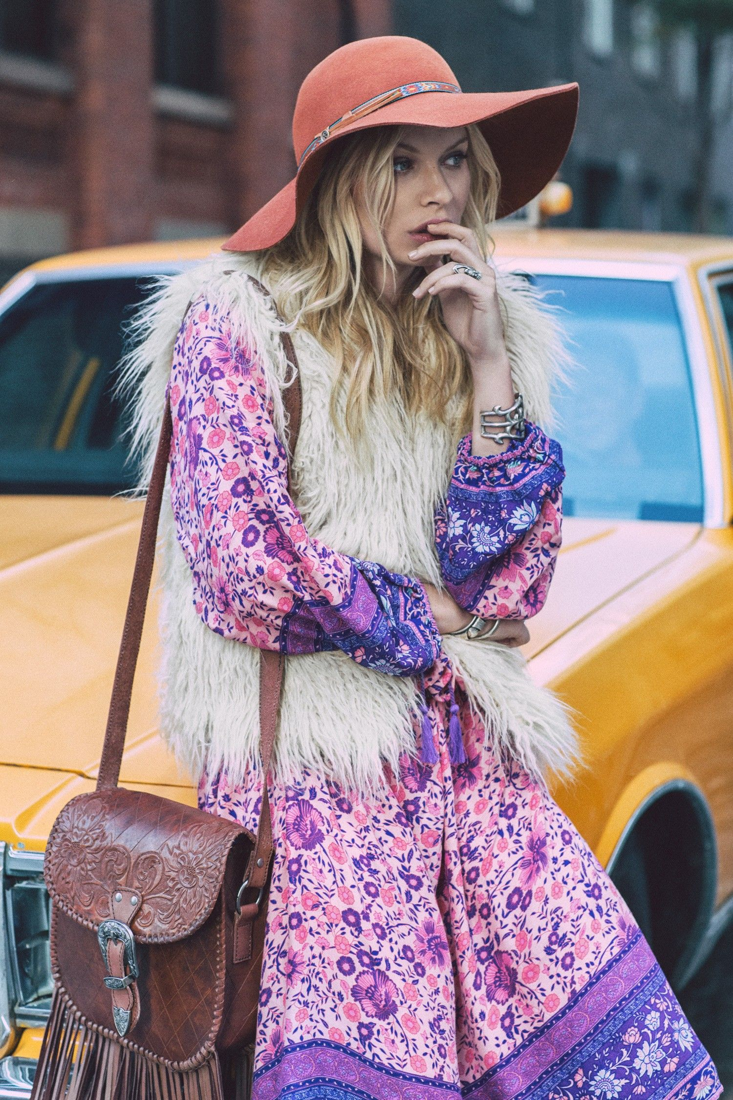 Alexandra Spencer Is the Ultimate '70s Babe In Her Latest Campaign via @WhoWhatWearAU