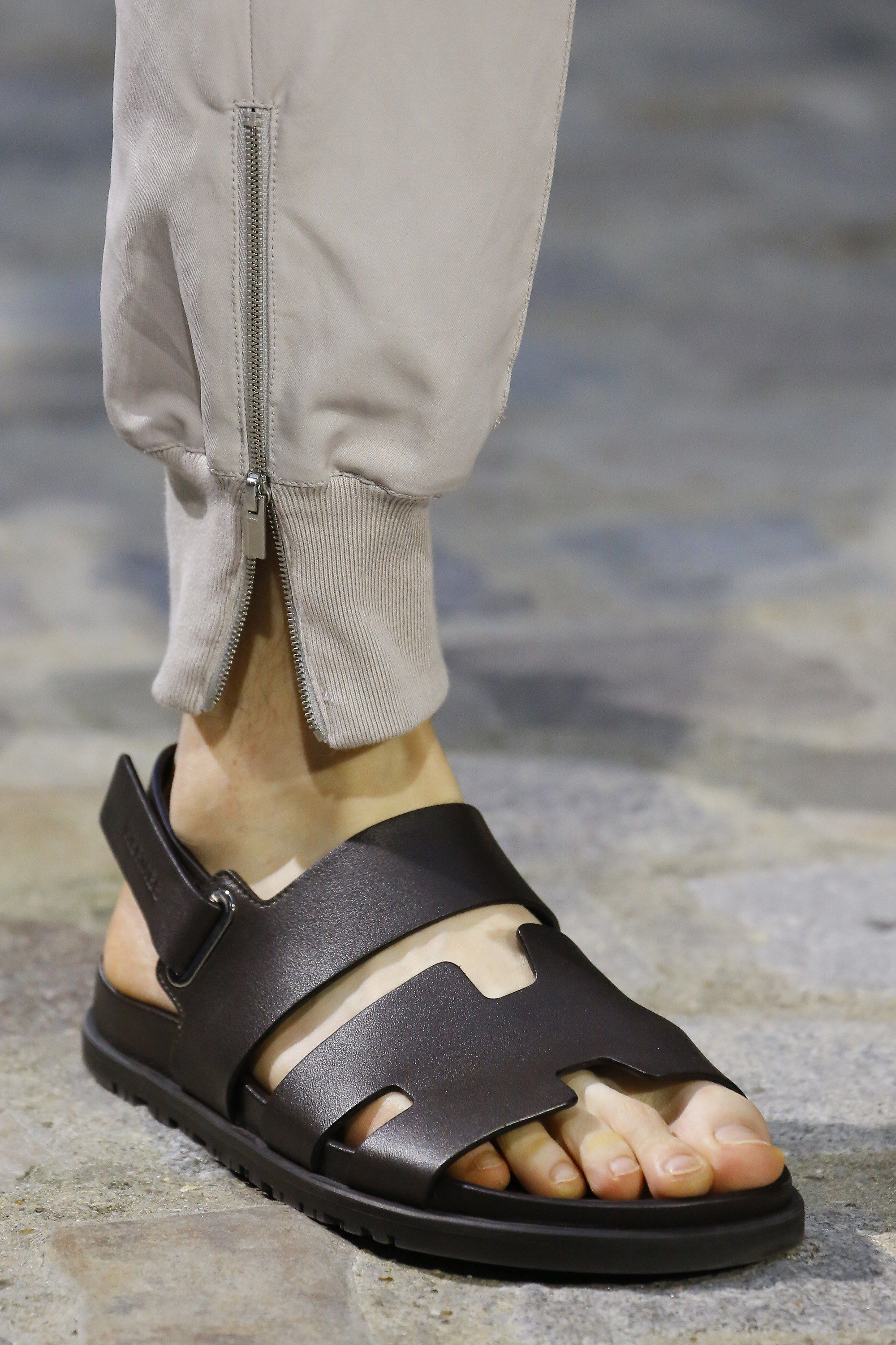 Mens leather sandals, Leather sandals