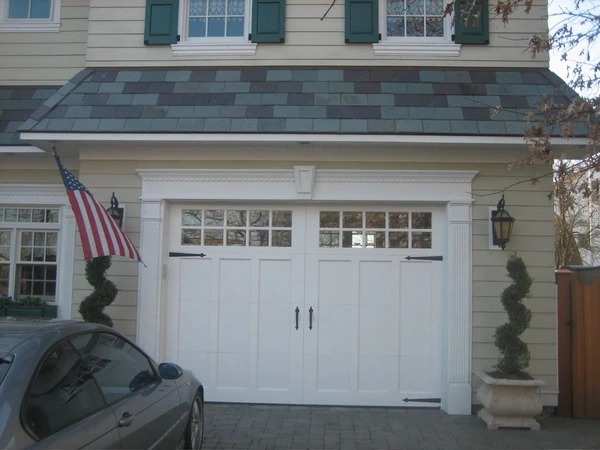 Aspen Craftsman Style Custom Wood Garage Door Garage Door Styles Garage Door Trim Garage Door Paint