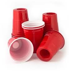 Food Visionary Products Inc Party Glass Red Cups Party Cups