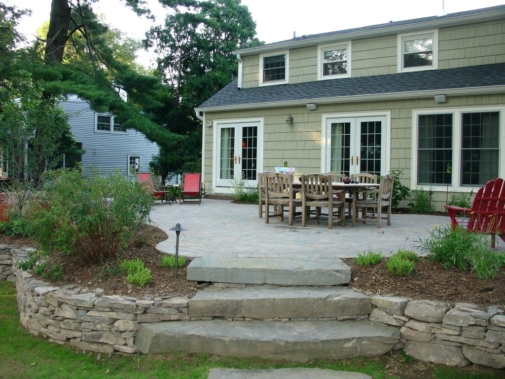 designs back new cement of design driveway garden ideas concrete resurface patio