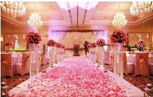 red pink purple wedding | pink wedding