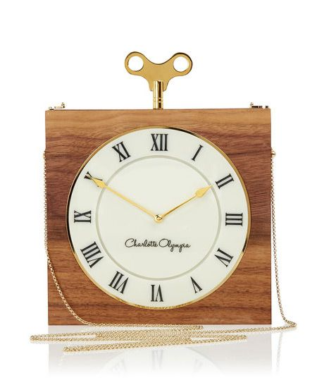 Charlotte Olympia The Timepiece Clutch Bag kPyOEWAq