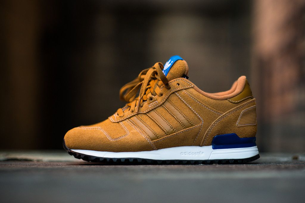 hot sale online bba16 f48ed adidas Originals outfits the ZX 700 in a fresh 'Wheat' suede ...