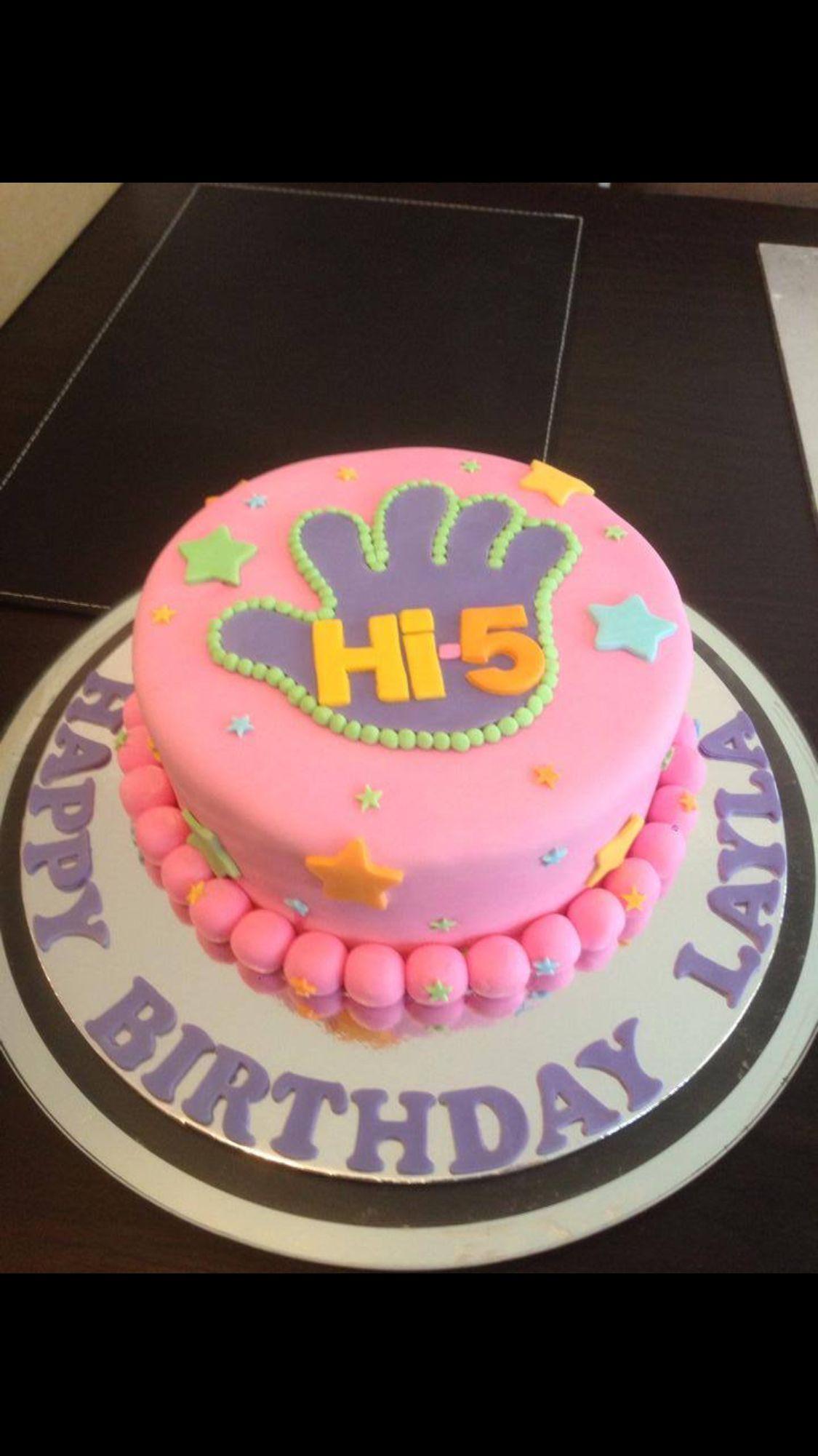 Hi Five Cake