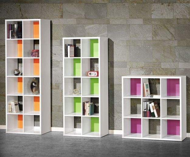 Plano muebles en melamina estante biblioteca proyecto 1 for Planos de melamina