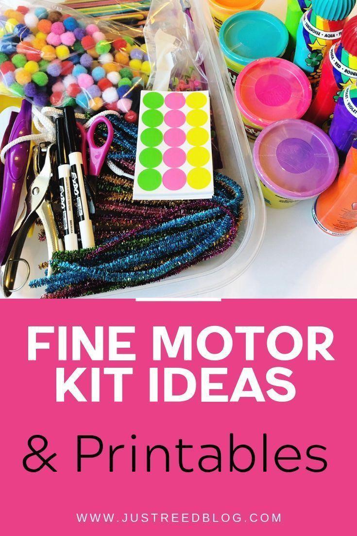 Developing Fine Motor Skills in Preschool and Kindergarten – Just Reed  Play