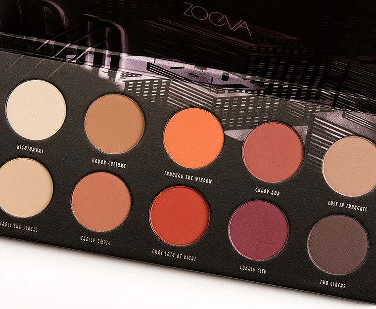 Tavolozza Trucchi ~ Sneak peek: zoeva matte eyeshadow palette photos & swatches