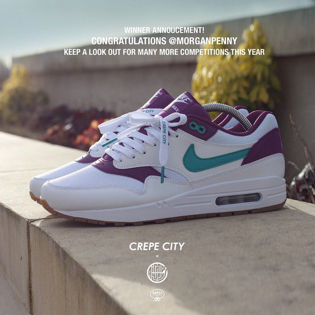 factory authentic 8c20d 8ddd2 nike air max 1 id crepe city