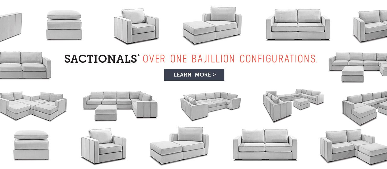 Lovesac Sactionals Bajillion Configurations Brand