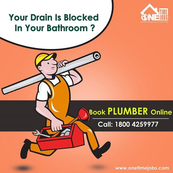 Your Drain Is Blocked In Your Bathroom ? Now Book Plumber ...