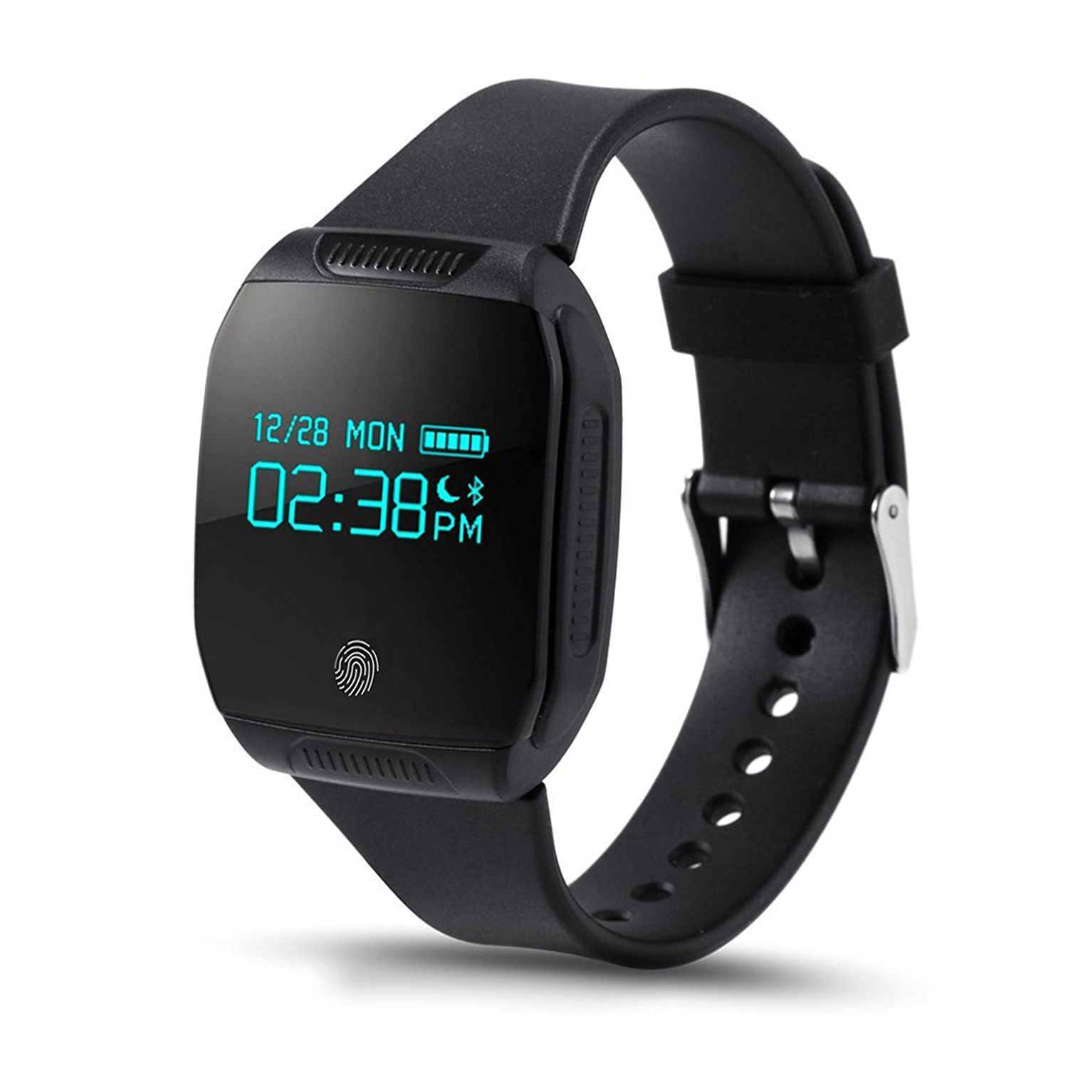 smart black mi with bluetooth watches sensor fitness product heart and band tracker rate