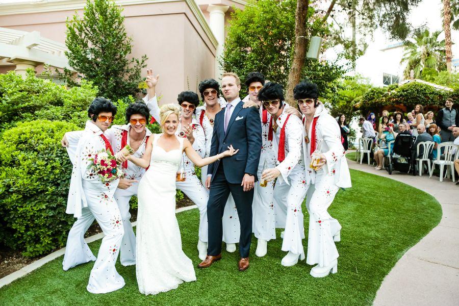 Las Vegas Wedding Planner, jewel toned bouquet, las vegas destination wedding, chalkboard sign, eucalyptus accent, mismatched bridesmaid dresses, Elvis impersonator, Elvis wedding, bistro lights, private venue, private resident, intimate ceremony, burlap handle wrap