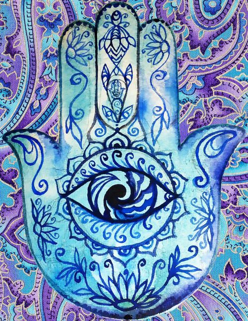 Hamsa hand. Source: butterflieswhispertodeath