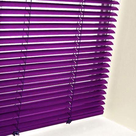 Aluminium Venetian Blind Dunelm Mill Purple Purple