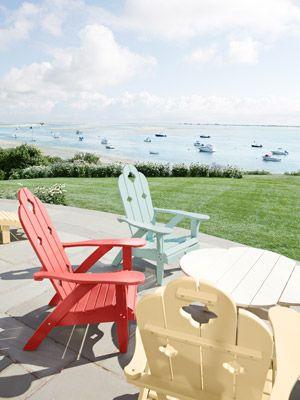 This Massachusetts Beach Bungalow Is Our Summer Dream Home Sillas - sillas de playa