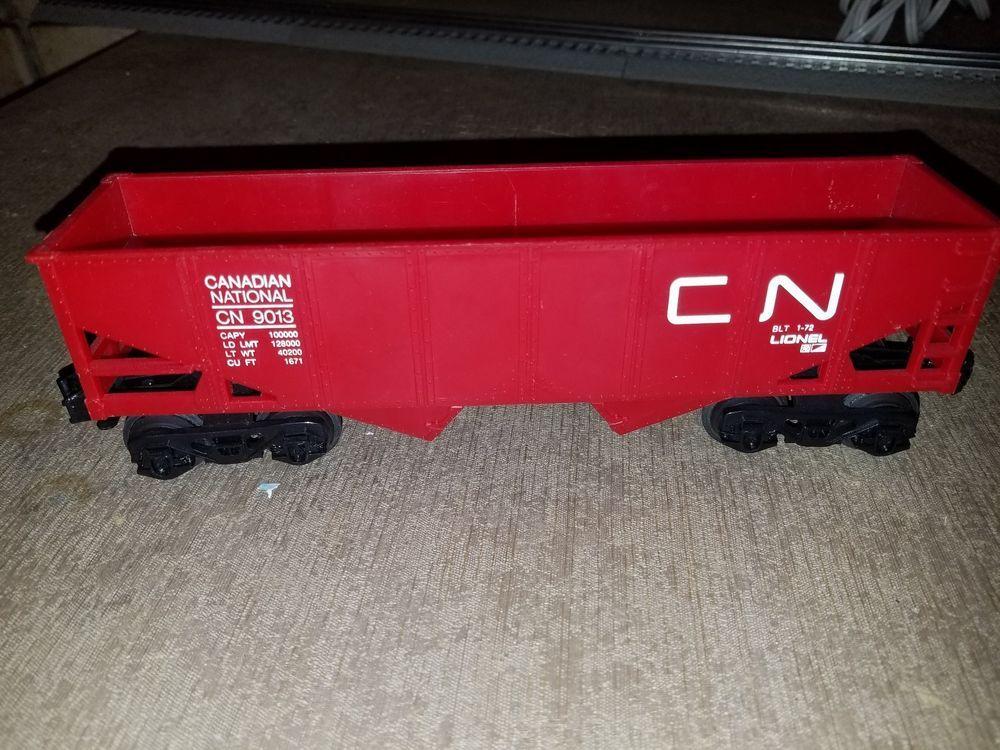 LIONEL Canadian National 2Bay Hopper Car 9013 Lionel