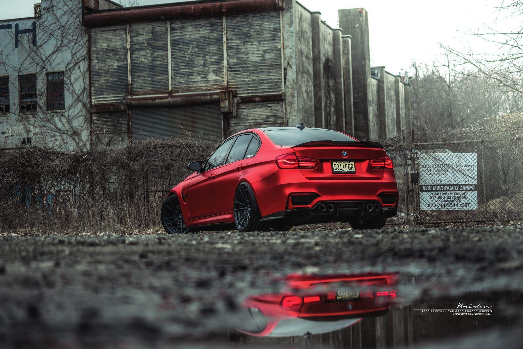 Red F80 M3 Bmw