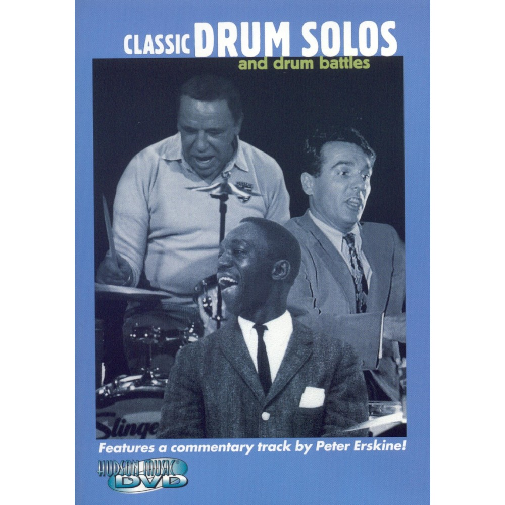 Classic Drum Solos and Drum Battles (dvd_video)