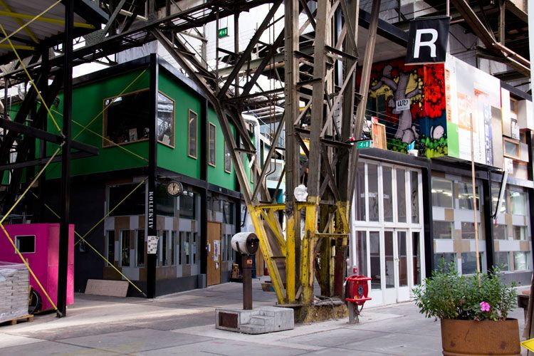 10 Inspirerende Hallen : Inspirerende werkplek ndsm werf amsterdam woonguide