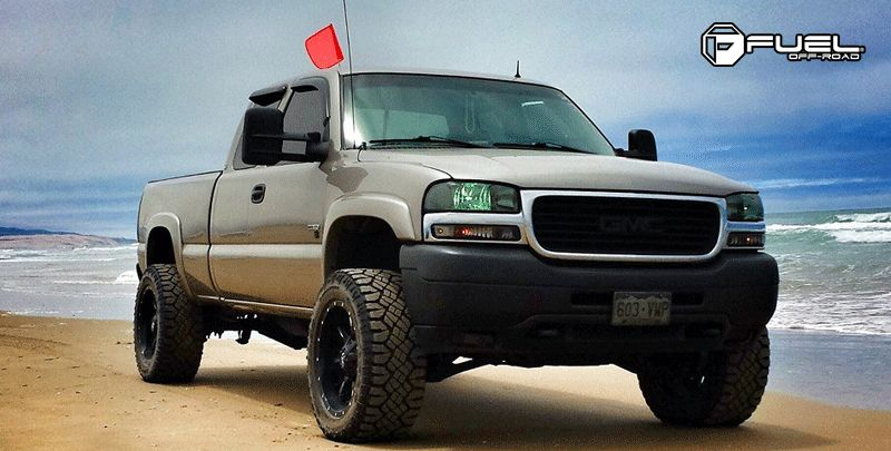 2002 gmc sierra love the way this one sits! Goals for