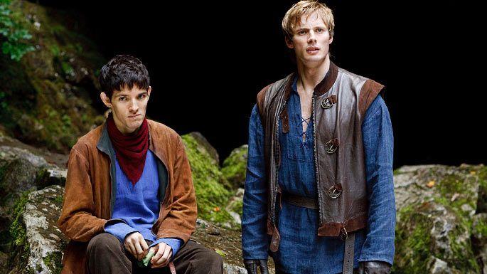 Hee hee - Merlin looks grumpy!