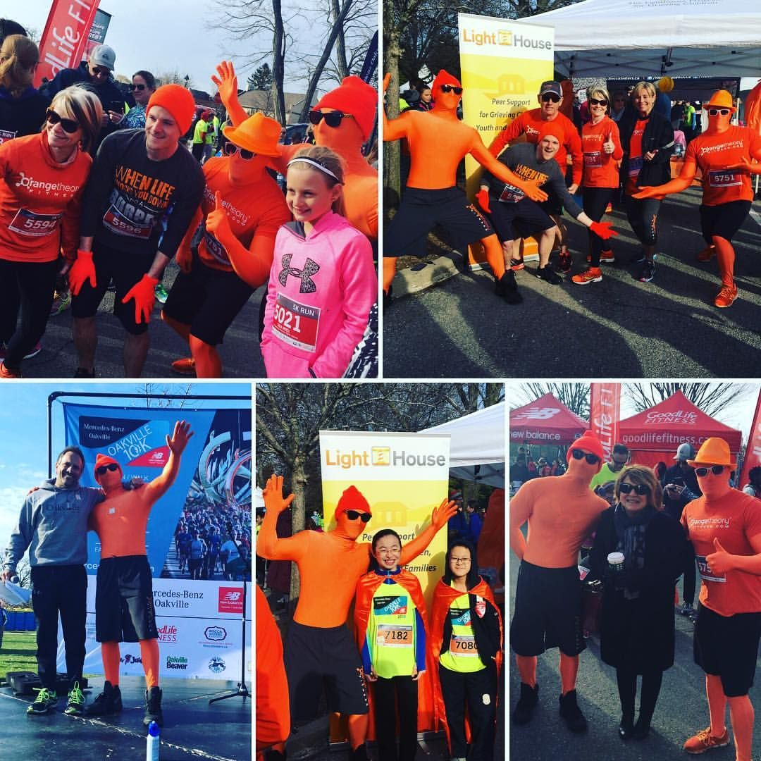 #AdventuresoftheOrangeMan at the @mercedesoakville10k in support of @lighthouse4grievingchildren  #latergram #OTFnation #OTFfamily