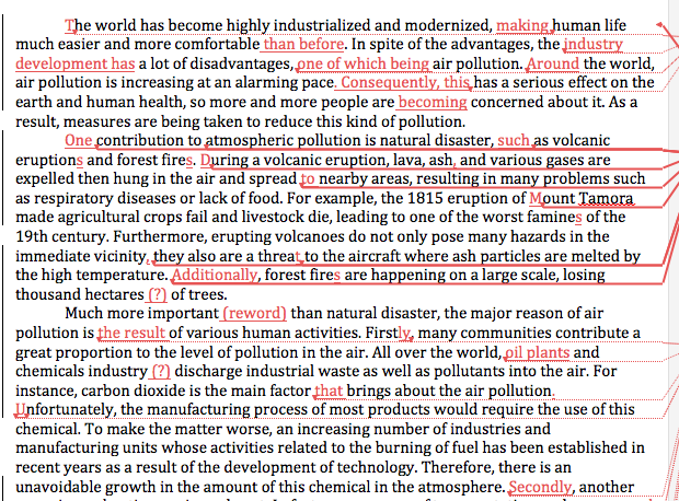 ways to prevent air pollution essay