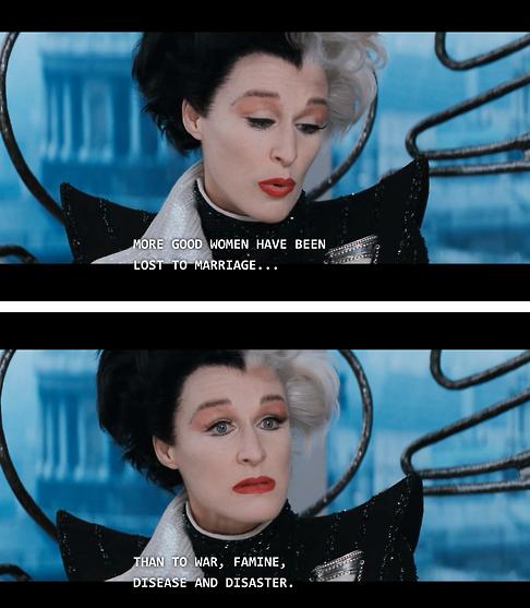 101 Dalmatians, Cruella De Vil, Film, Disney, Glenn Close