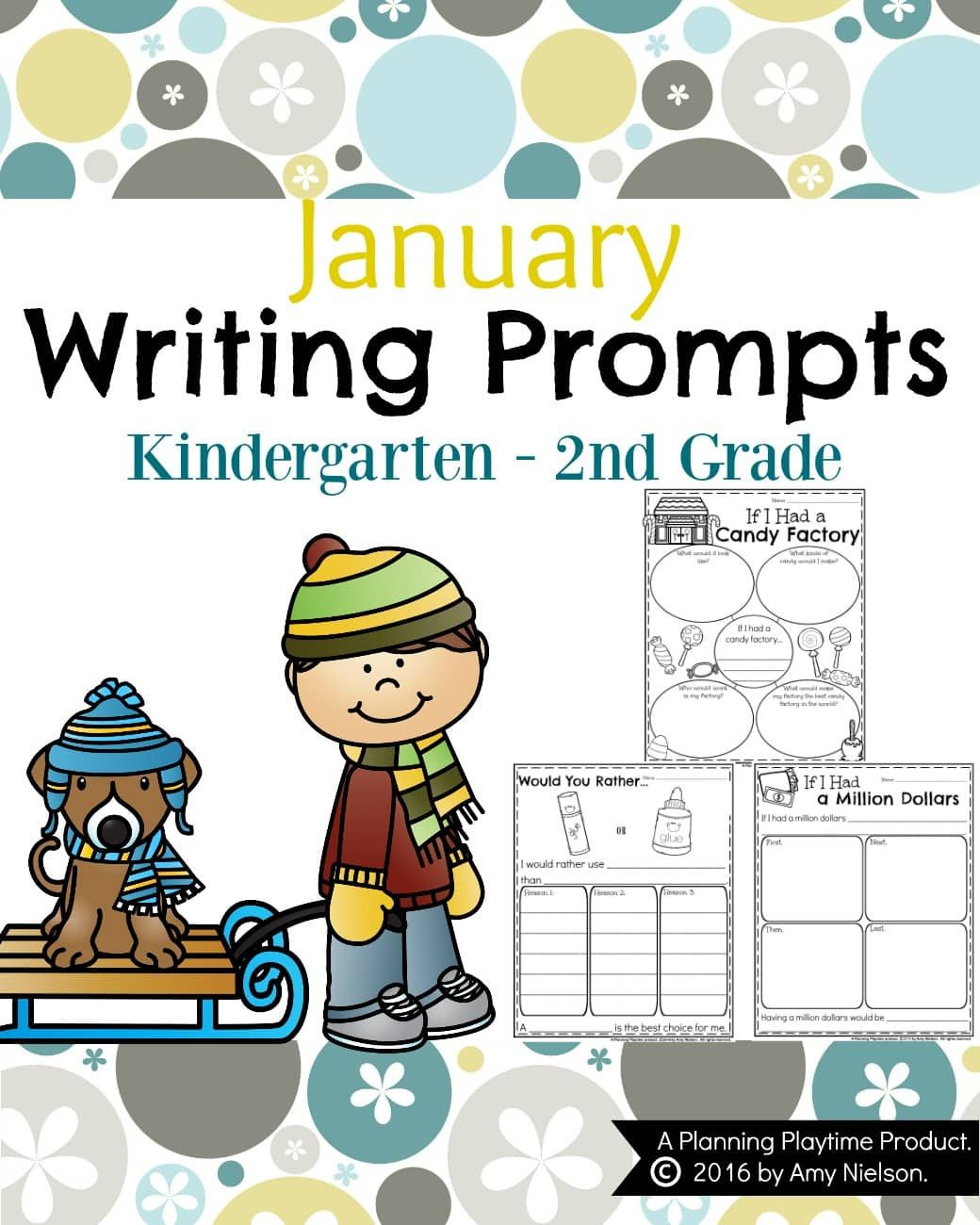 January Writing Prompts With Images