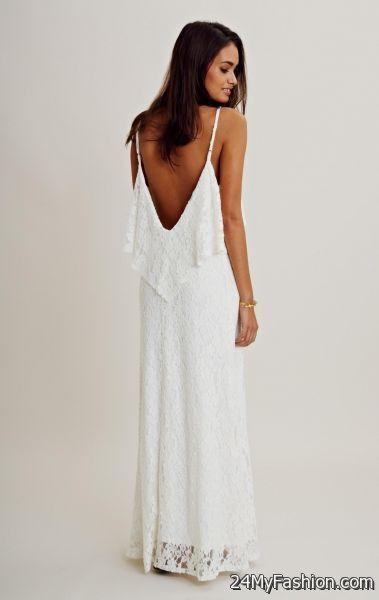 0d48e7a5e6d3 white summer maxi dresses 2017-2018 » B2B Fashion