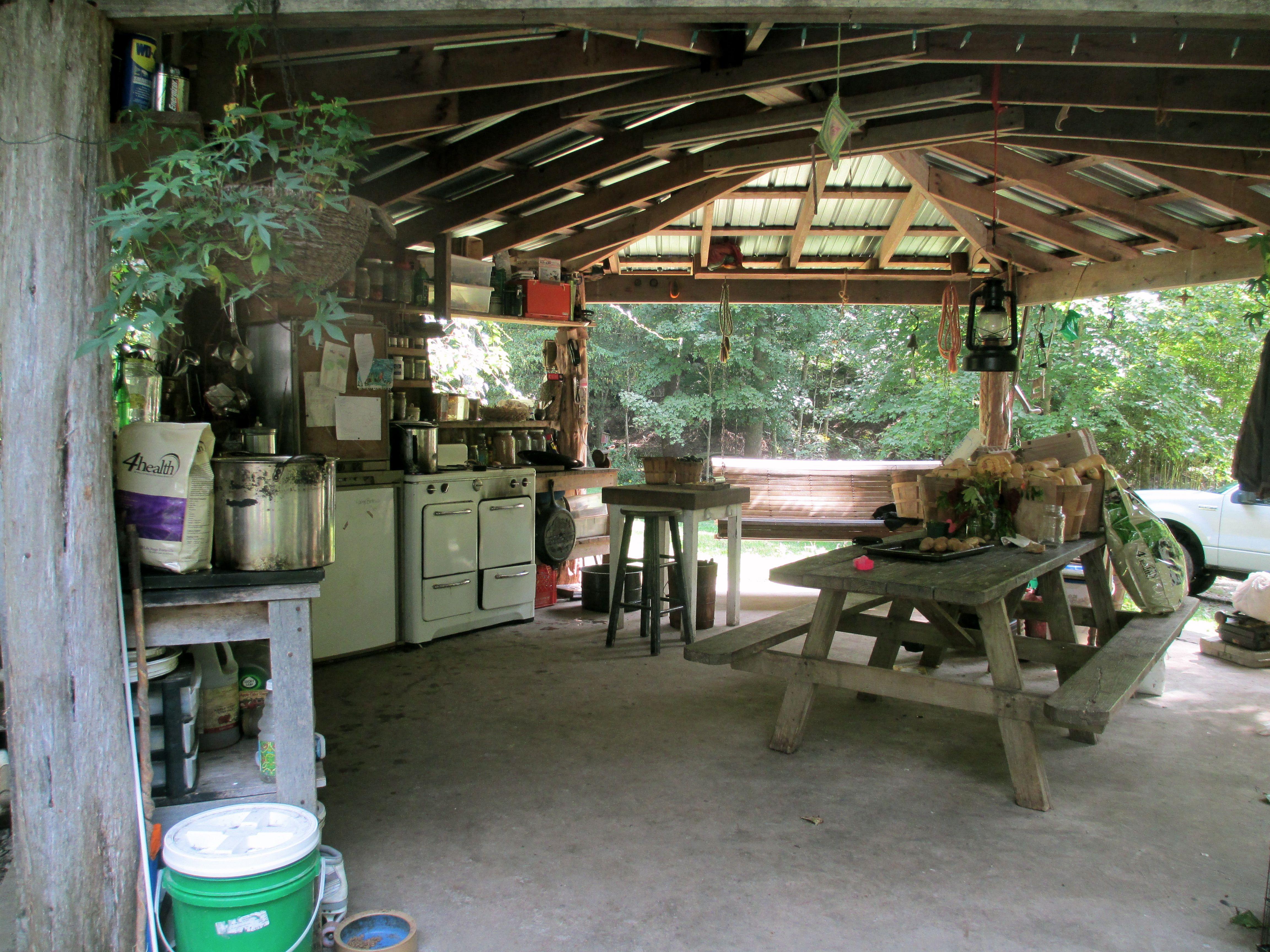 Merveilleux Summer Kitchen