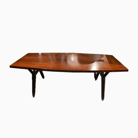 Italienischer Holztisch von Ico Parisi, 1960er Jetzt bestellen - esszimmer italienisch
