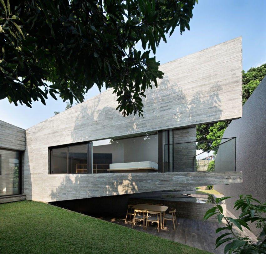 IT House en Indonésie par Andramatin | Faire construire, Agence et ...