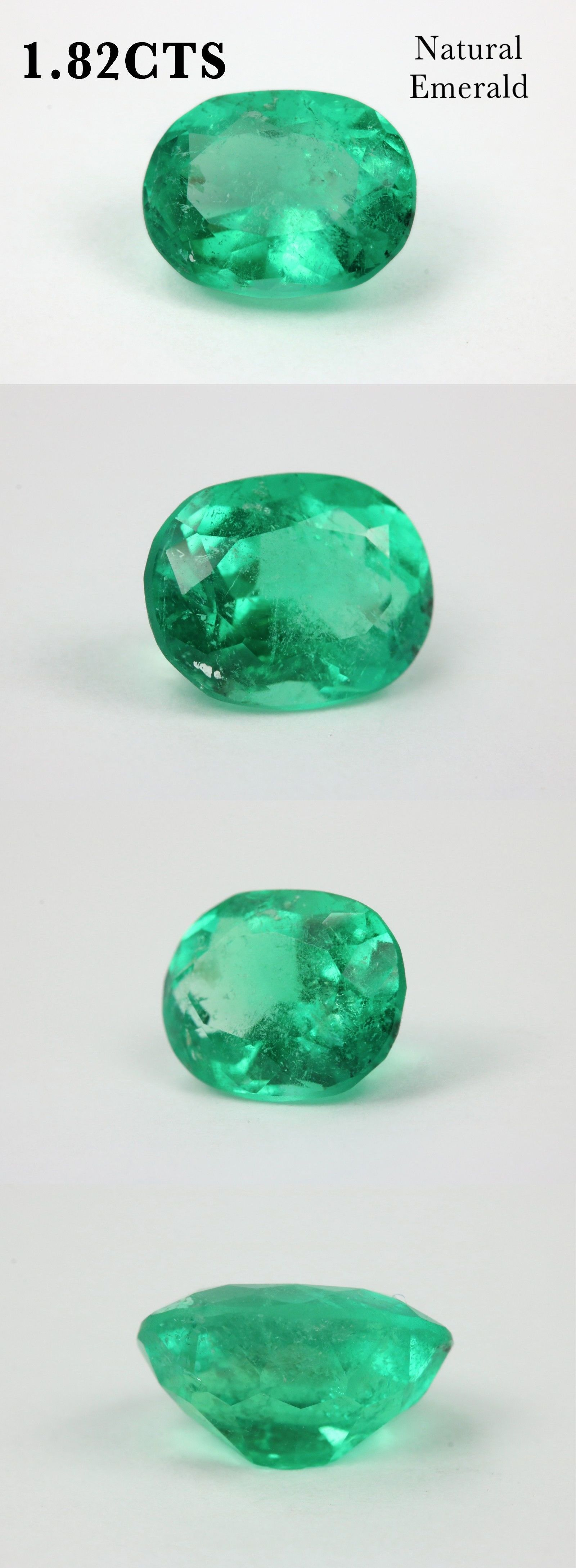 emerald colombian pear fine quality loose natural aaa certified pin