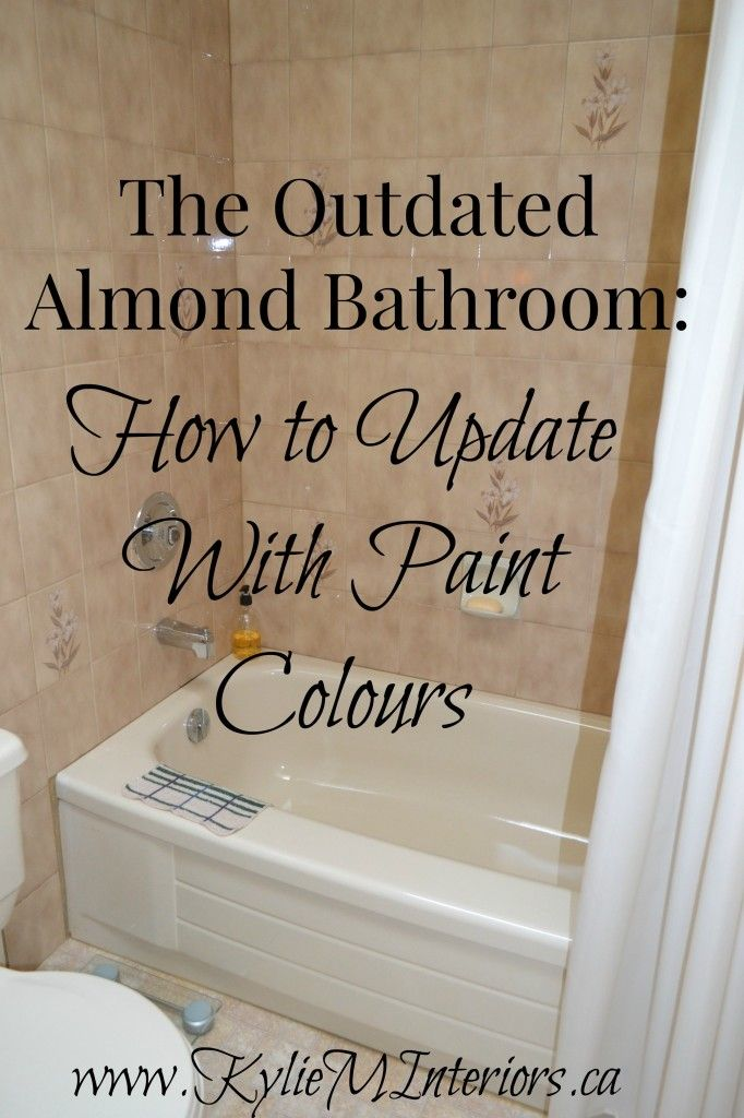 Best Wall Paint For Bathroom: The Best Paint Colours For An Almond / Bone Bathroom