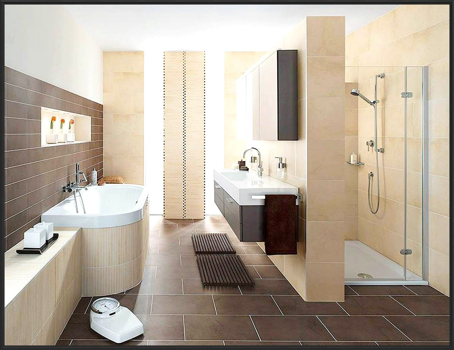 badezimmer aufteilung ideen With images   Country style bathrooms