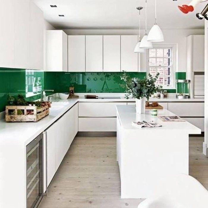 Green Kitchen Tiles For Backsplash