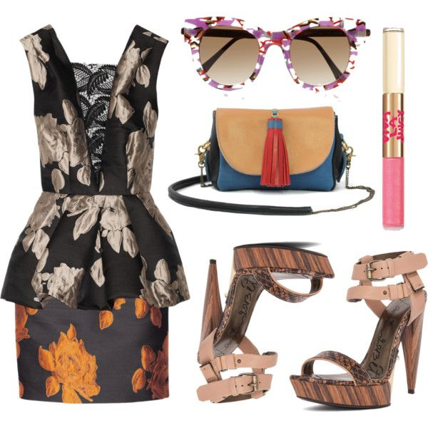 """Lunch Date"" by la-bohemian-rhapsody on Polyvore"