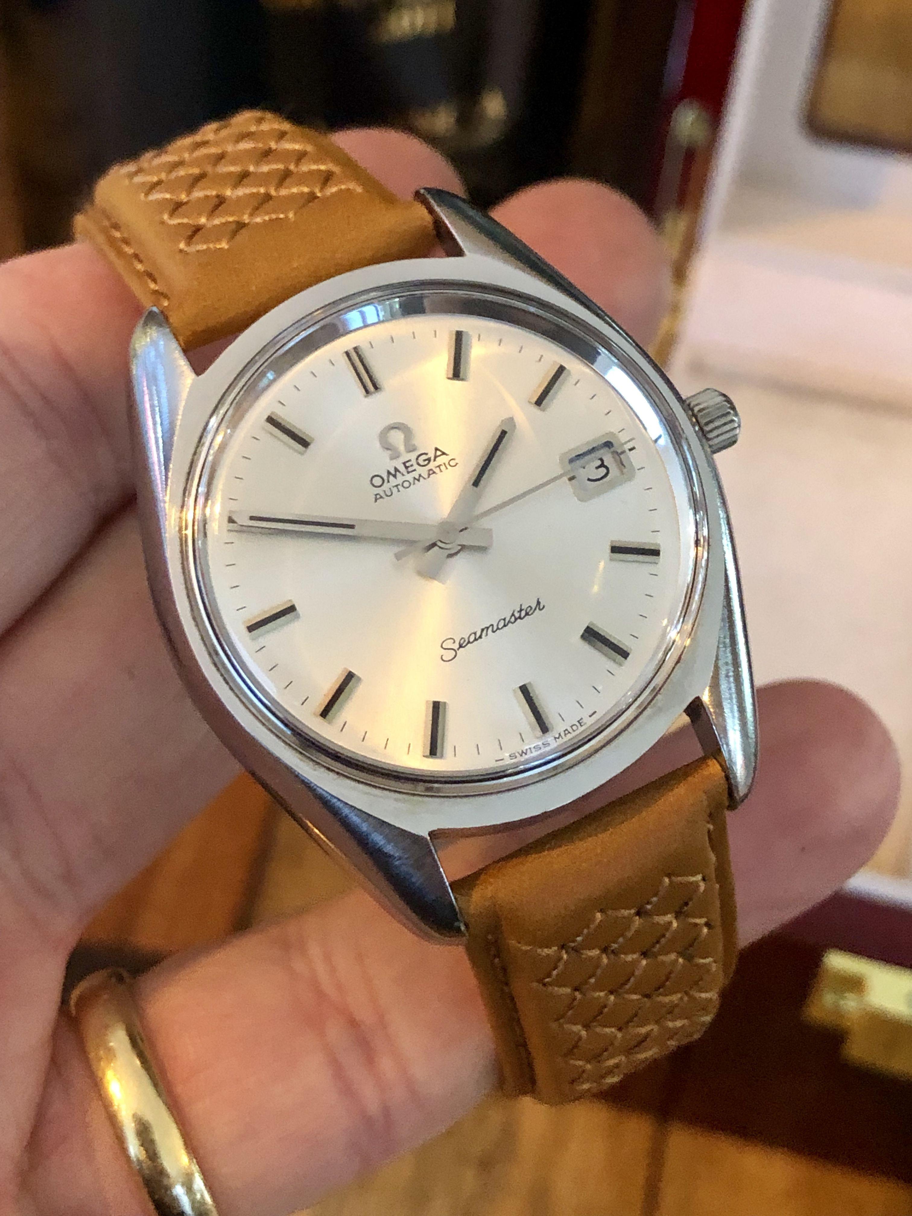 Stunning & Rare Omega Seamaster vintage 1969 men's watch #luxurywatches