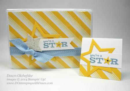#dostamping #stampinup #inspirecreateshare2014 #sweettaffy #diy #dawnolchefske #starframelit #bigshot