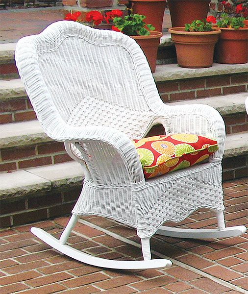 Free Shipping On Naples Wicker Rocking Chair High Back From Warehouse See All Of Our Furniture Products