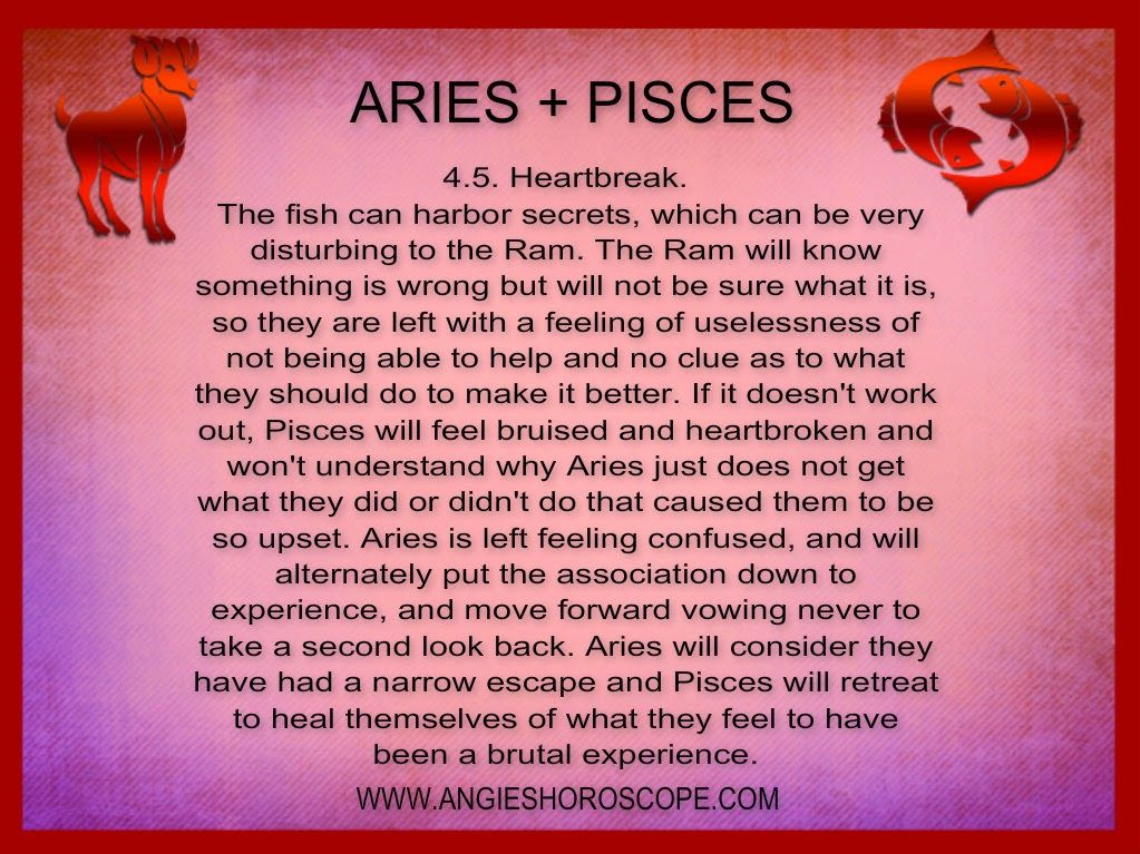 How compatible are aries and pisces